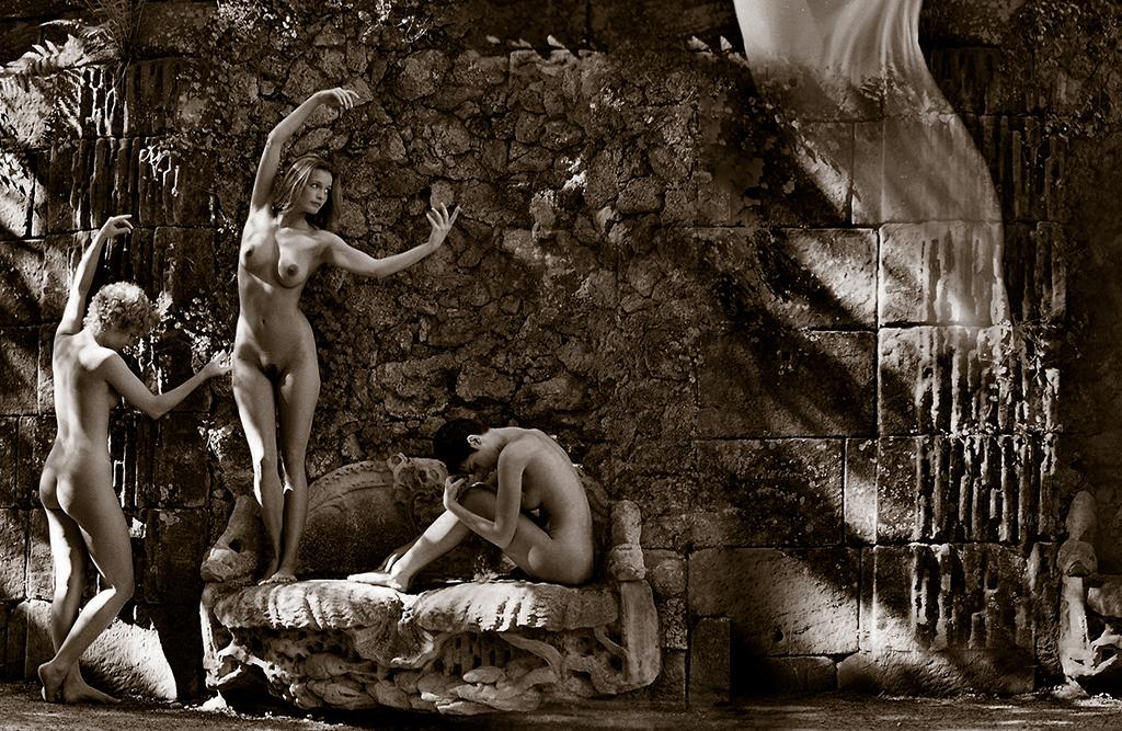 Eifert János: Három grácia / Three graces (Potsdam, 80-as évek)