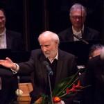 Jeney Zoltán a Reformormáció 500 emlékév záró-koncertjén, a Zeneakadémián