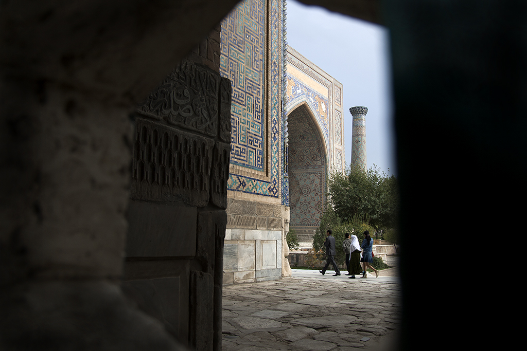 Gur Emir Mausoleum, Szamarkand / Gur Emir Mausoleum, Samarkand (