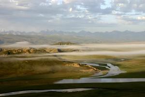 Kaidu folyó / Kaidu River (China, 2006)